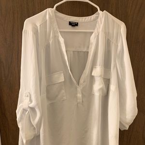 White torrid Harper top.